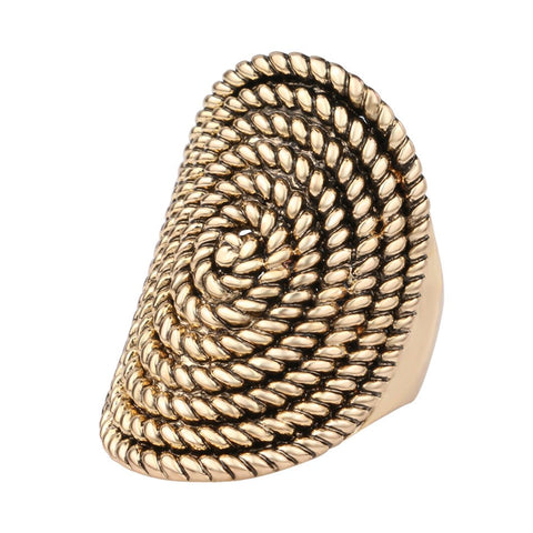 The Oval Rope Ring - The Moonlight Society