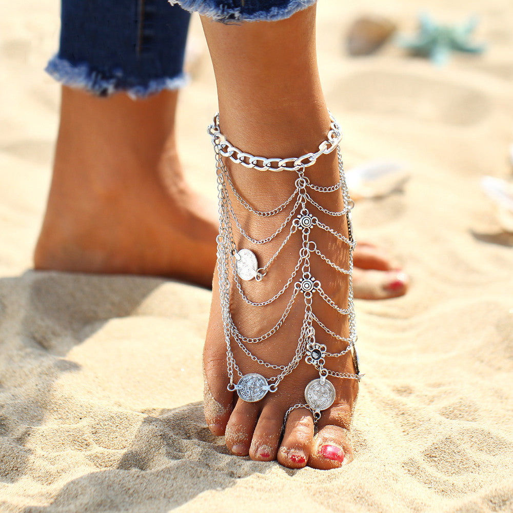 Wanderlust Foot Chain