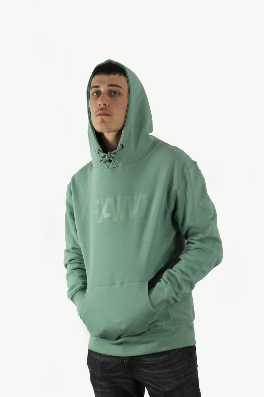 HOODIES - Original FAM Hoodie / Light Green