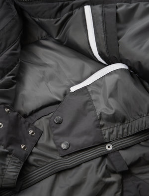 FAM Clothing blackout jacket is a regular fit ski jacket