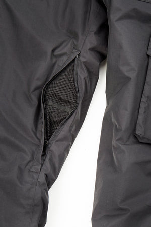 FAM Clothing blackout pant is a fitted ski pant