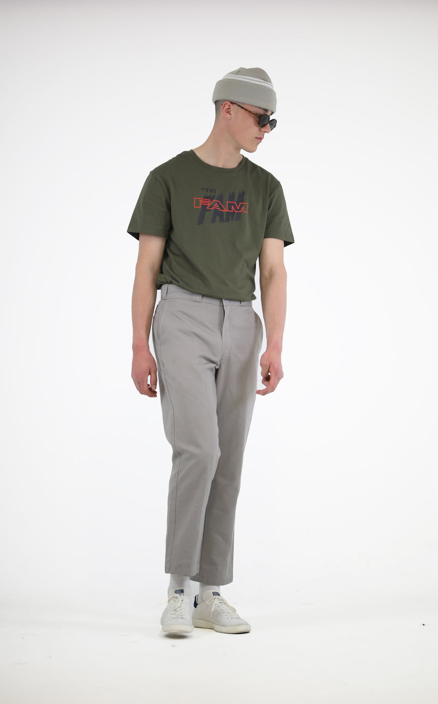 TEES - The FAM T / Moss Green