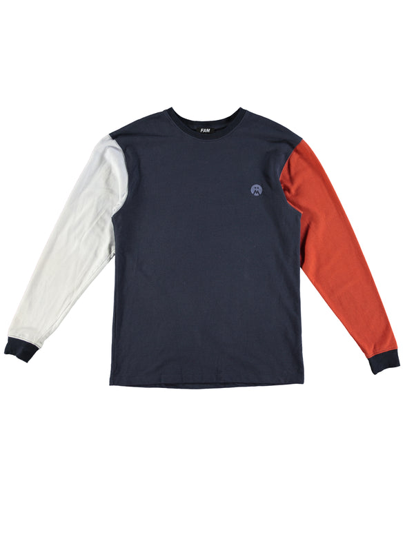FAM Tri-colour Long Sleeve T