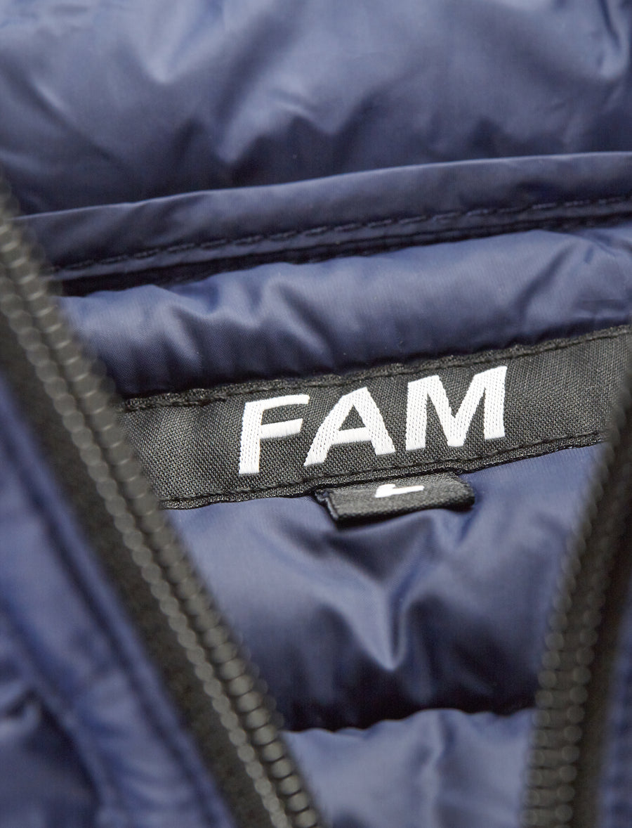 Down Shirt / Navy - FAM CLOTHING