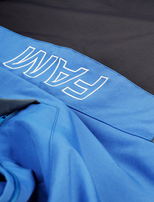 JACKETS - Panelled Anorak / Blue