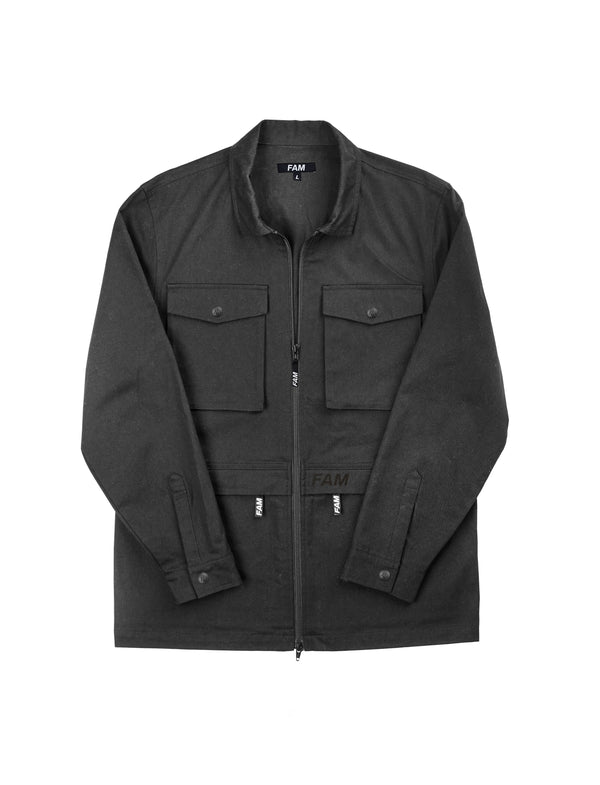 JACKETS - Shacket / Black
