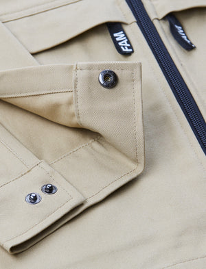 JACKETS - Shacket / Khaki