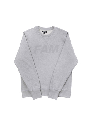 SWEATS - Original FAM Crew / Grey Melange