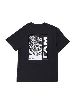 TEES - FAM Worldwide T / Black