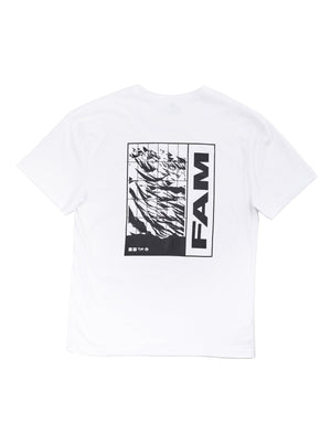 TEES - FAM Worldwide T / White