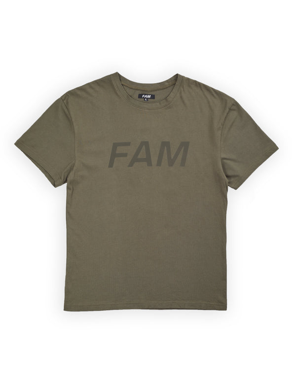 TEES - Original FAM T / Moss Green