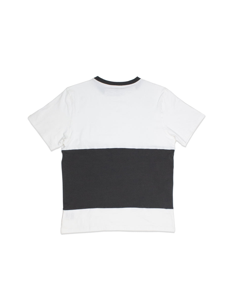 TEES - Panelled T S/S / Grey