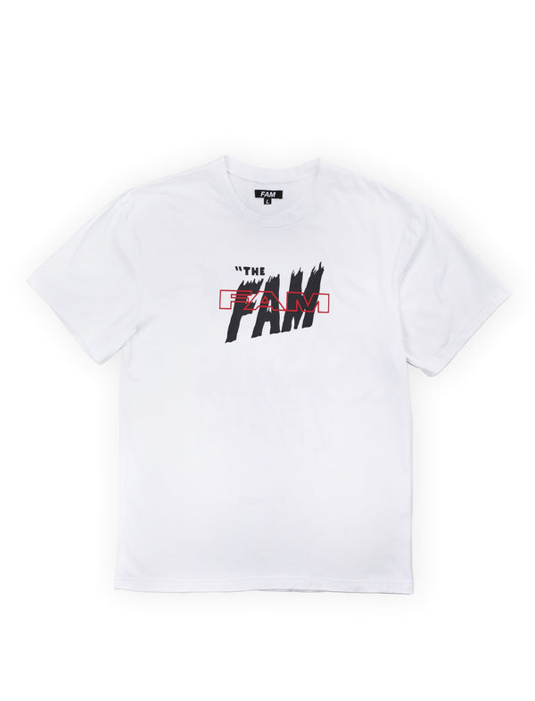 TEES - The FAM T / White