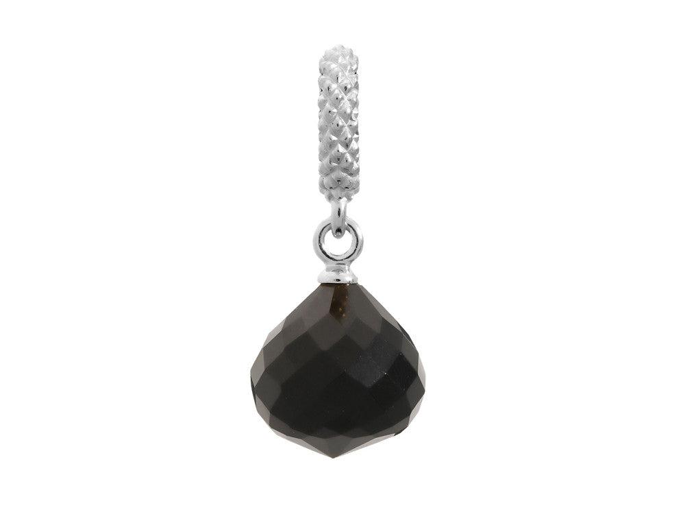 Endless Jewelry - Jennifer Lopez Collection Black Mysterious Drop Silver Black Crystal Silver Finish