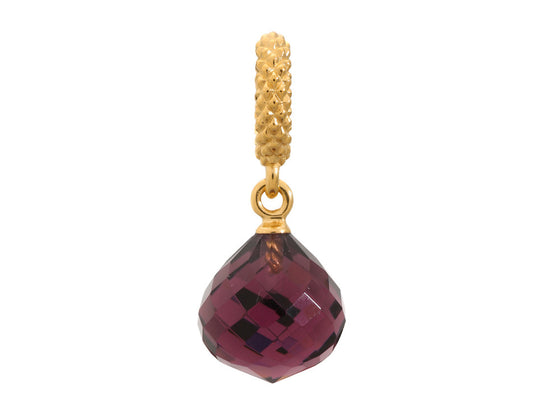 Endless Jewelry - Jennifer Lopez Collection Amethyst Mysterious Drop Amethyst Crystal Gold Finish
