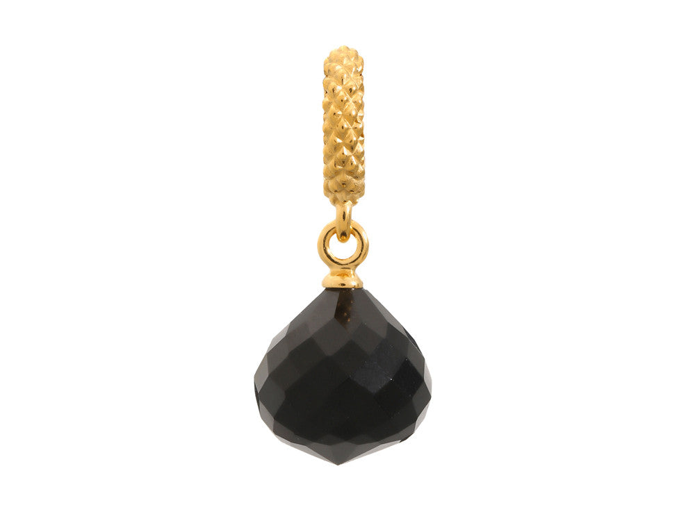 Endless Jewelry - Jennifer Lopez Collection Black Mysterious Drop Black Crystal Gold Finish