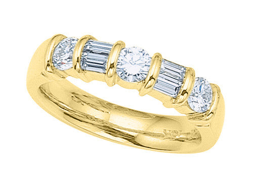 Karina B Baguette Diamonds Band