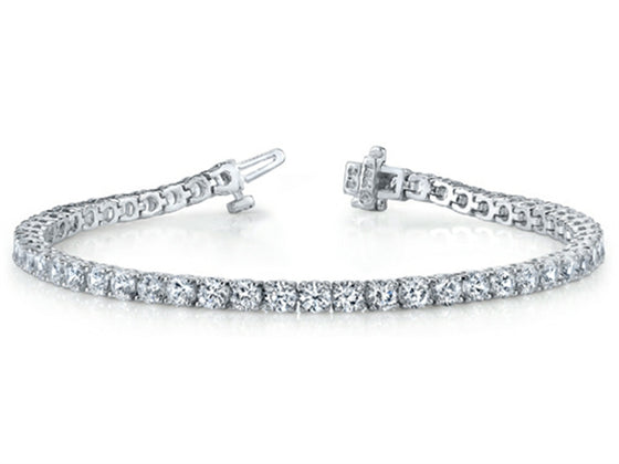 Finejewelers Round Diamonds Tennis Bracelet 3 cttw (7 inches) IGI Certified