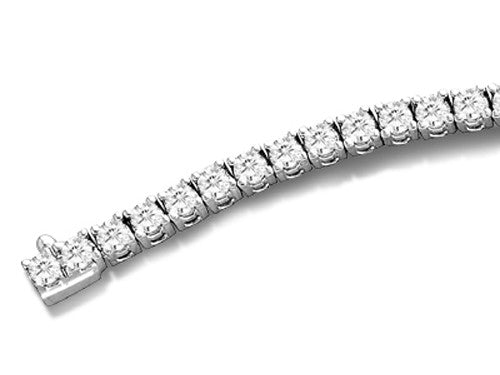 Finejewelers 2 cttw Round Diamonds IGI Certified G-H Color I1 Clarity Tennis Bracelet (7 inches)