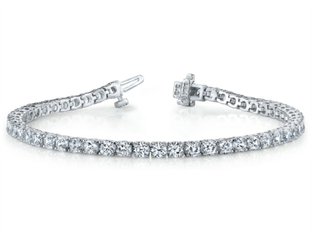 Finejewelers 1.0 cttw Round Diamonds Tennis Bracelet (7 inches) - IGI Certified