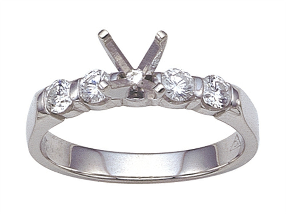 Karina B Round Diamonds Engagement Ring