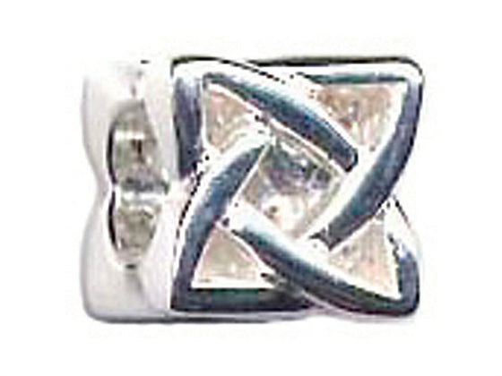 Zable Sterling Silver Celtic Knot Bead / Charm
