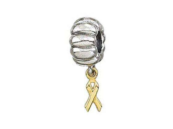 Zable 14k Ribbon Dangle Bead / Charm