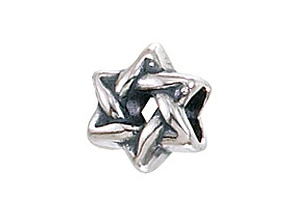 Zable Star Of David Pandora Compatible Bead / Charm