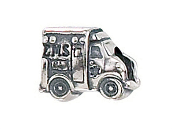 Zable Ambulance Bead / Charm