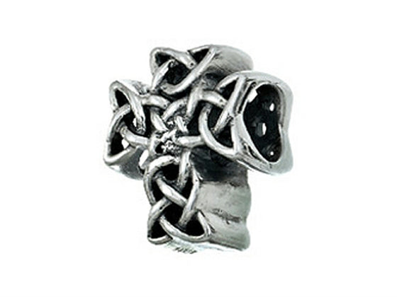 Zable Celtic Knot Cross Pandora Compatible Bead / Charm