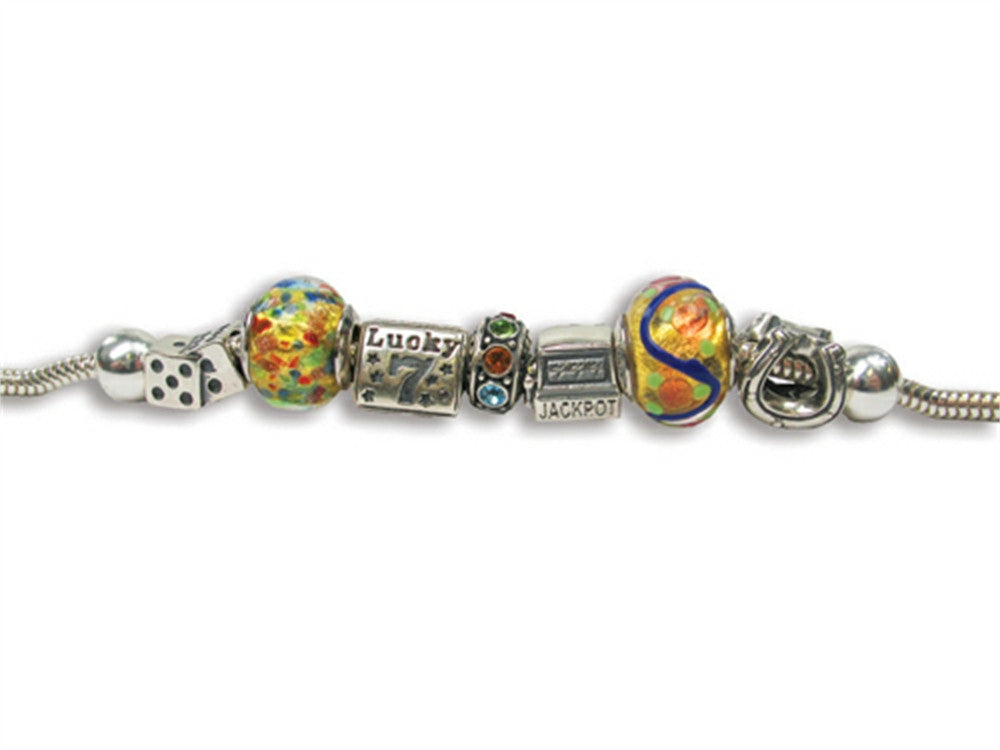 Zable Casino Theme Bracelet Bead / Charm