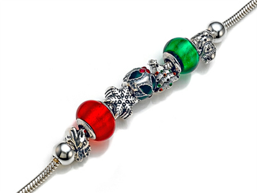 Zable ChristmasTheme 8 inches Bracelet Bead / Charm