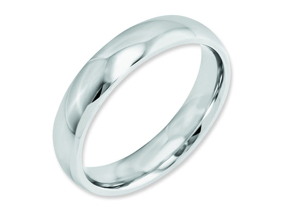Chisel Cobalt Polished 5mm Weeding Band
