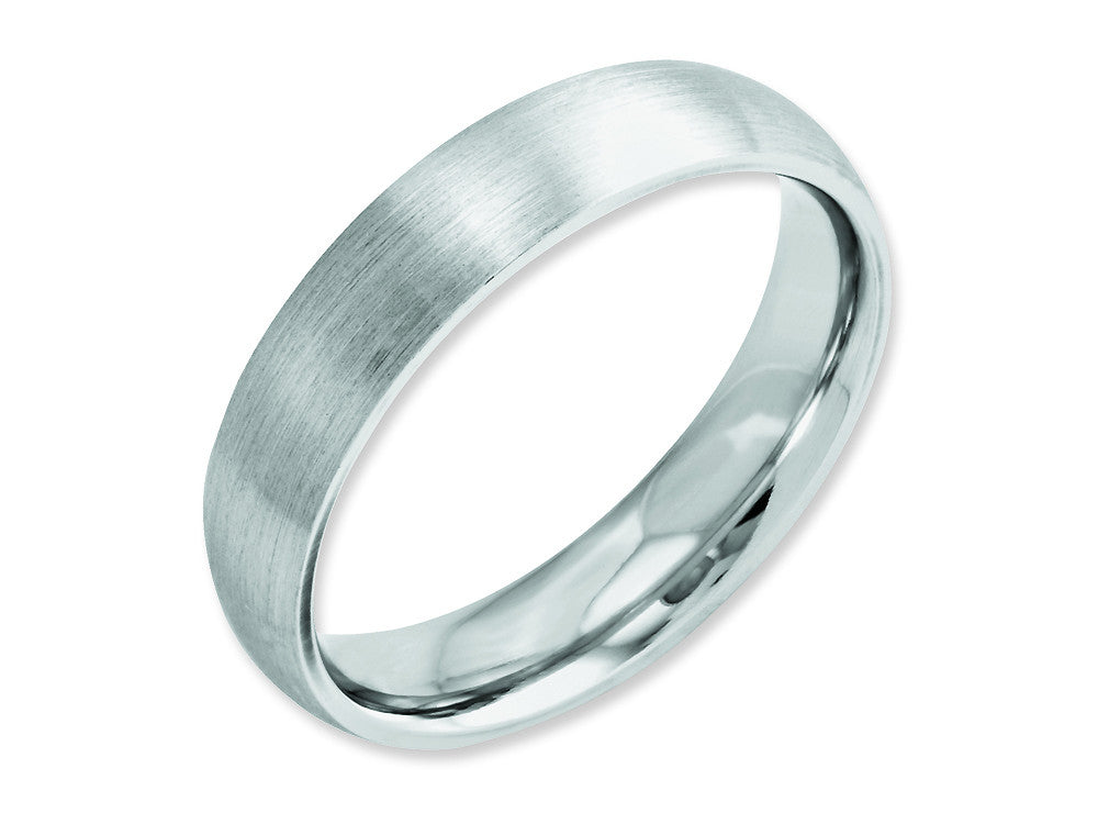 Chisel Cobalt Satin 5mm Weeding Band