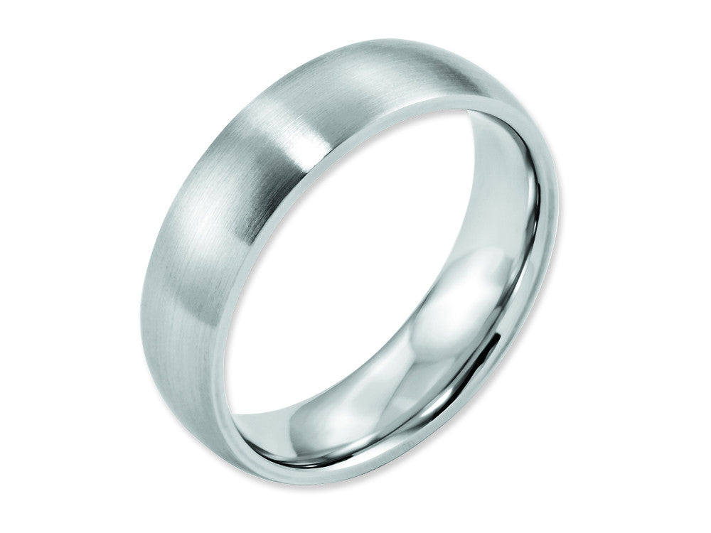 Chisel Cobalt Satin 6mm Weeding Band