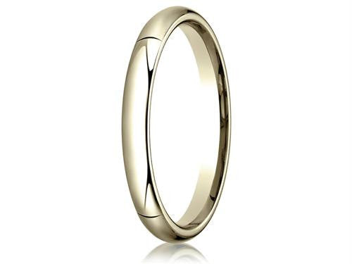 Benchmark 14k Gold 3.0mm High Dome Heavy Comfort-fit Ring