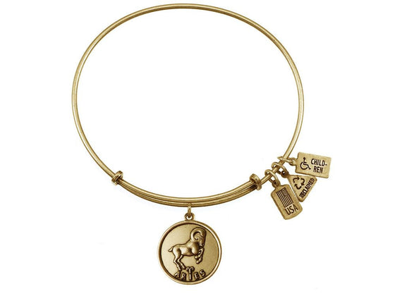 Wind And Fire Expandable Bangle Aries (ram)