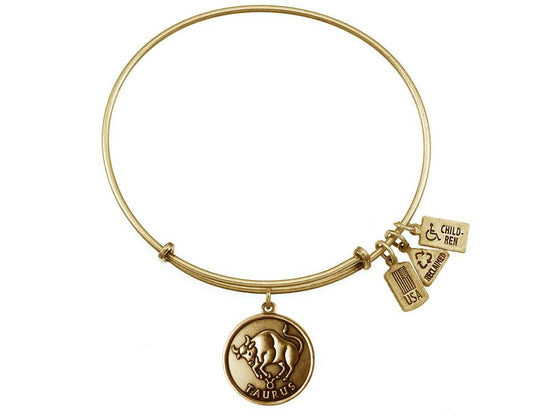 Wind And Fire Expandable Bangle Taurus (bull)