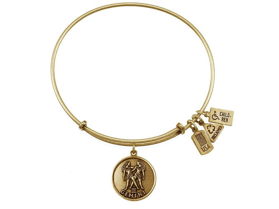 Wind And Fire Expandable Bangle Gemini (twins)