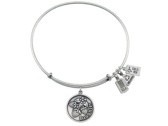 Wind And Fire Expandable Bangle Daughter W/ Strawberries