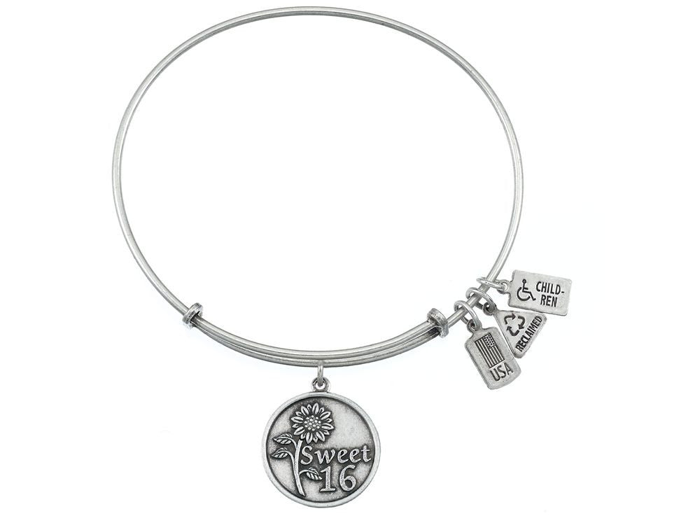 Wind And Fire Expandable Bangle Sweet 16