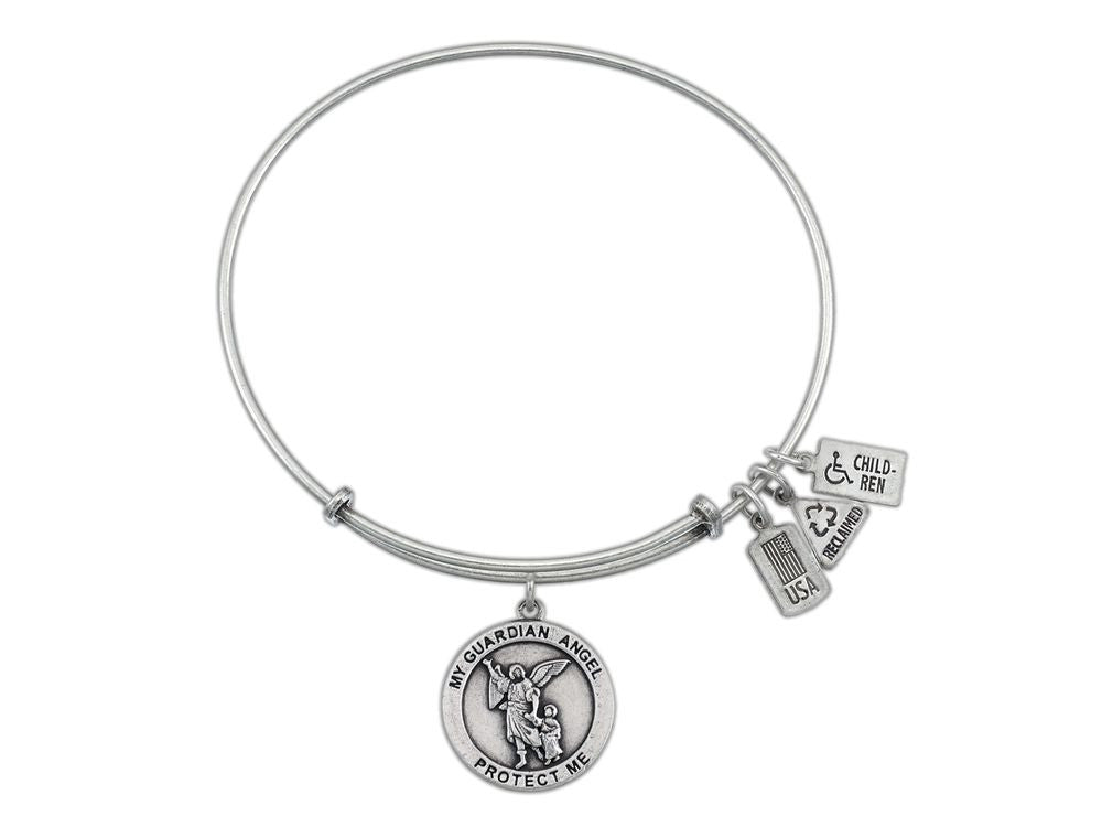 Wind And Fire Expandable Bangle Guardian Angel