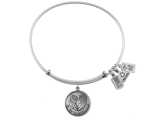 Wind And Fire Expandable Bangle In My Heart Forever
