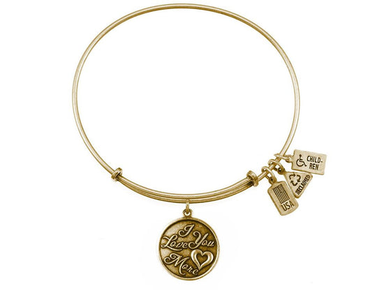 Wind And Fire Expandable Bangle I Love You More