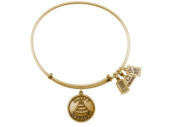 Wind And Fire Expandable Bangle Happy Birthday