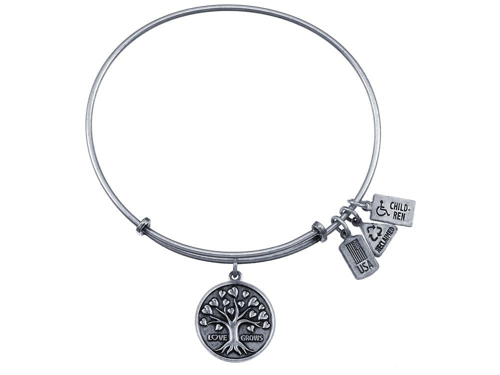 Wind And Fire Expandable Bangle Tree Of Love