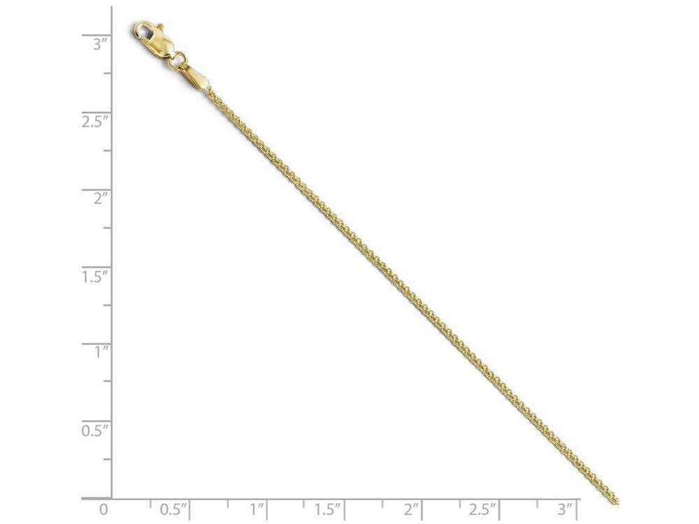 Finejewelers 10k 1.2mm Wheat Chain Necklace