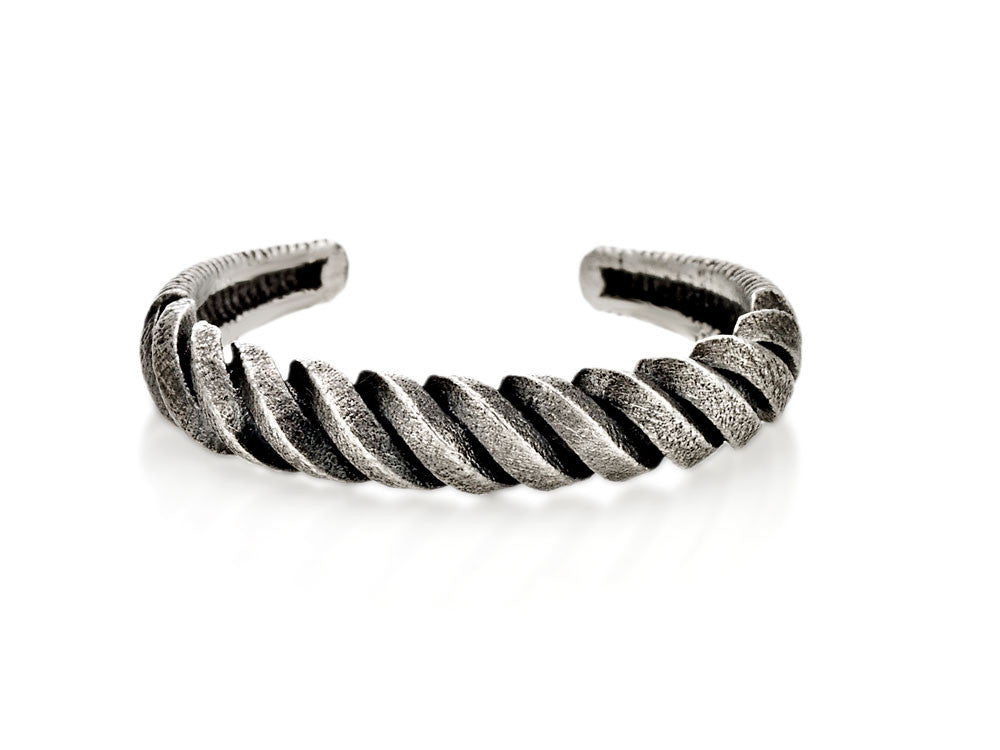 Mariano Di Vaio - Sterling Silver Spiral Ring
