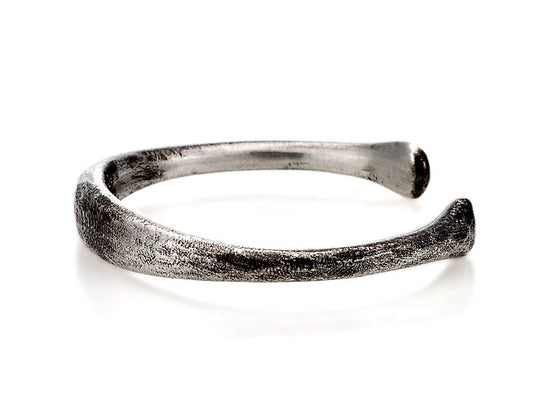 Mariano Di Vaio - Sterling Silver Hammered Ring