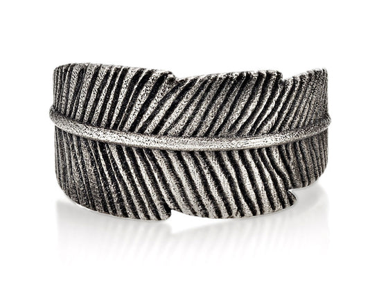 Mariano Di Vaio - Sterling Silver Feather Ring